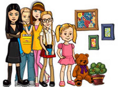 Онлайн игра Папины дочки.